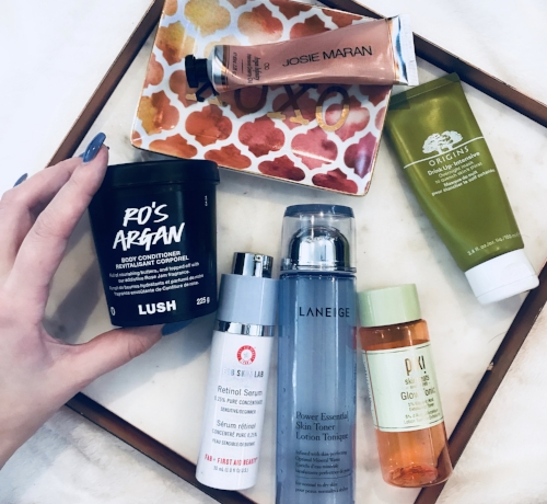 Winter Skincare Items