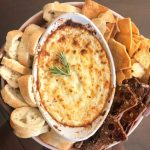 Baked Goat Cheese Dip Appetizer