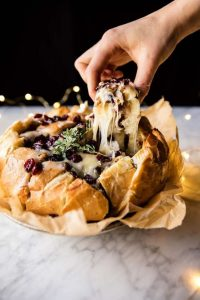 cranberry brie pull apart